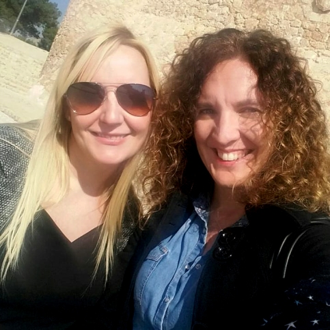 Elena Arnaiz y Natalia Ruiz